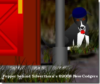 Pepper behind Silverthorn's ©2008 New Codgers
