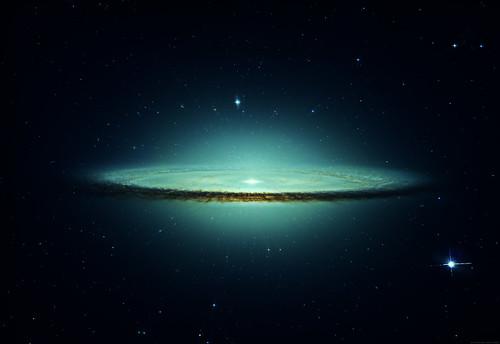 Frozen Galaxy by Dlinx.