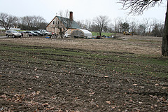 one acre CSA field March 20