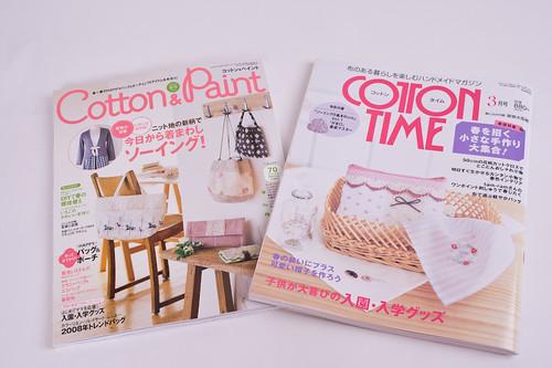 Cotton & Paint and Cotton Time Magazines