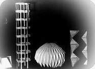 Estudio con papel realizado por un alumno para el curso de Josef Albers. 1928.