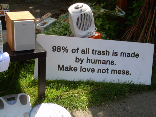 Make love not mess