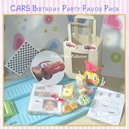Birthday Party Favor Pack (CARS)