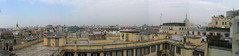 Milan from ninth floor