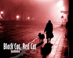 Black Cat, Red Cat hardboiled wallpaper 3