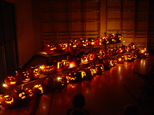 Pumpkin Carving Night 3