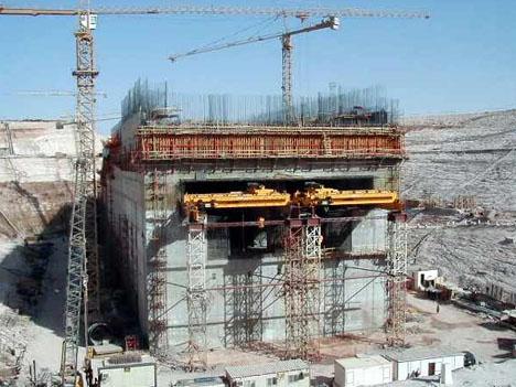 Mubarak Pumping Station Construction