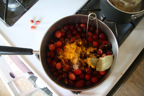 My favorite cranberry sauce