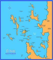 Map of El Nido