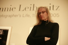 Annie Leibovitz at her SF exhibition