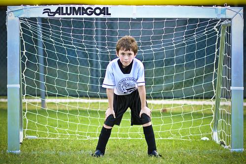 Goalkeeper Stanley