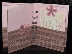 Cherish Pocket Book - inside