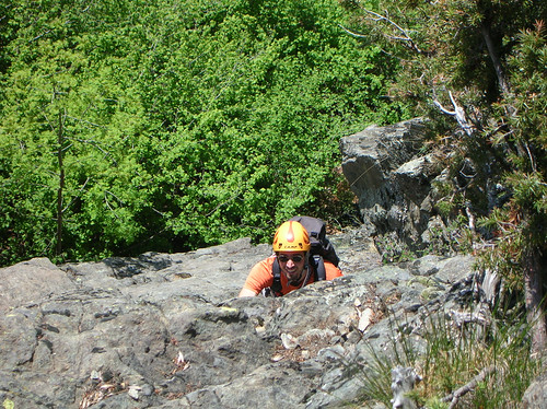 Una bell'arrampicata