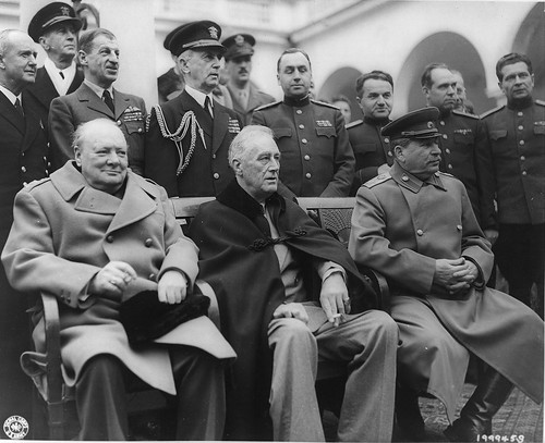 No Known Restrictions: President Roosevelt at Yalta Conference, 1945 (LOC)