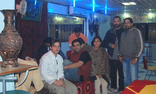 Inside Afghan Restaurant, Lajpat Nagar