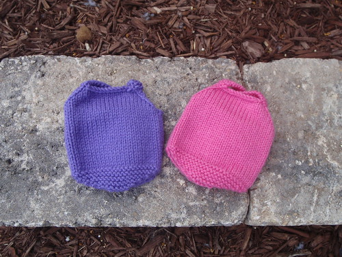 Knitted Babes' Swimsuits