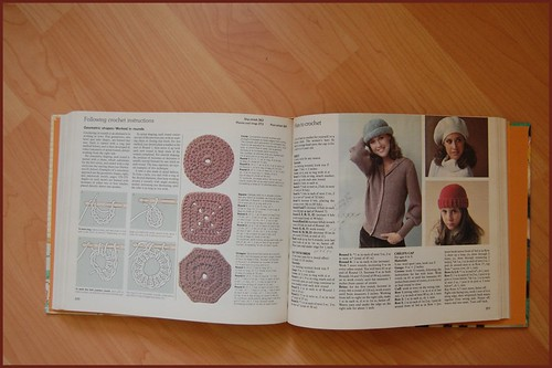 beret pattern in the reader's digest complete guide to needlework