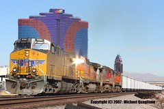 Las Vegas freight train