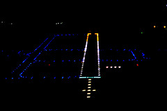 KCOE runway lights