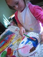 Allysa painting
