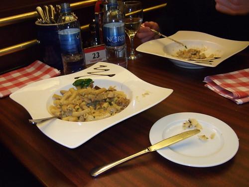 Pasta aboard M/S Marella