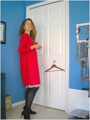 the valentine's frock {another view}