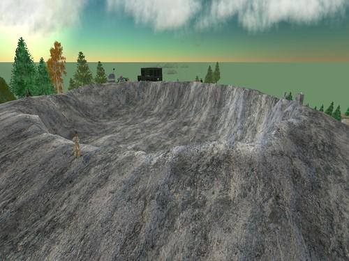 Davenport 3 - The extinct volcano?