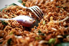 Mmmm..maggi goreng (Fried Maggi Noodles)