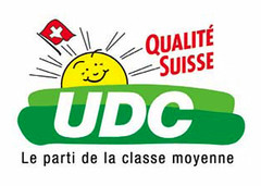 Logo UDC et qualité suisse
