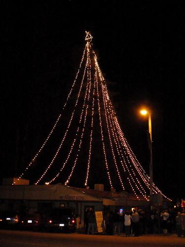The Boulder Creek Christmas Tree