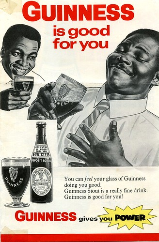 Beer advertisement