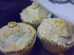lemon sherbet cupcakes