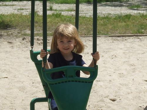 Sophia at playground