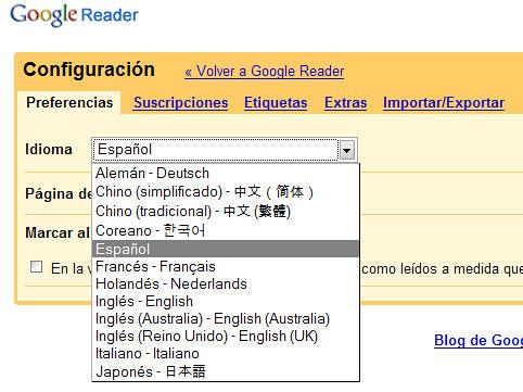 Google-Reader-con-idiomas