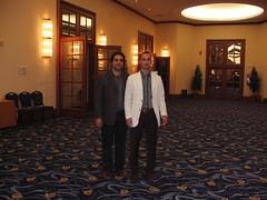 Me with Mr. Topalov