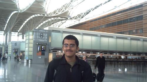 Di dalem bandara SFO