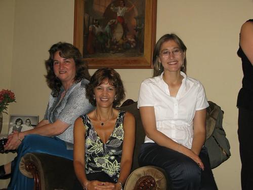 Rosa Maria, Nathalie, Silvia