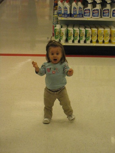 Running through Target