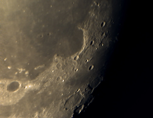 Sinus Iridum-Bay of Rainbows on 7/14/08