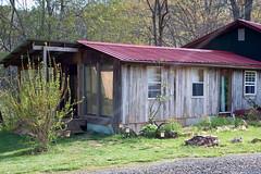 Rustic Cabin at Miracle Farm B&B, Floyd Va