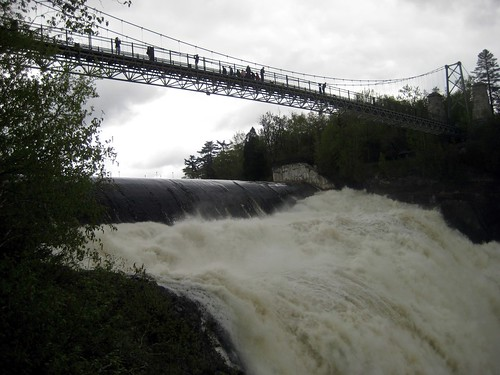 Bridge over the Montmorency Falls