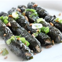 Recipe: Bo Cuon La Lop - grilled ground beef wrapped in a La lop