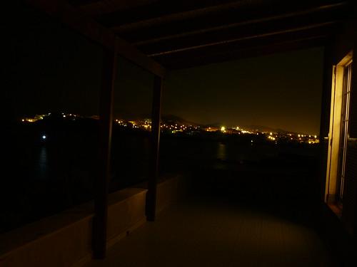 Terraza nocturna