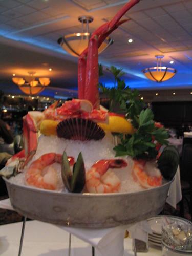 Grand seafood platter