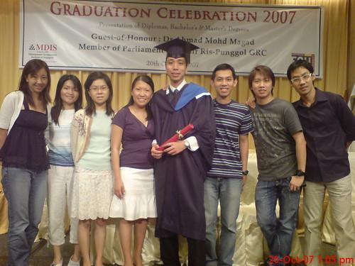 MDIS Graduation- Andrew Ong