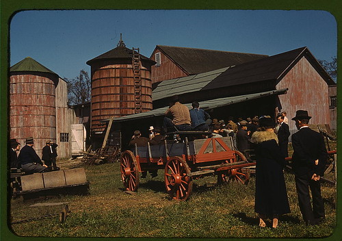 The Library of Congress, Farm Security Administration - 1930s-40s in Color