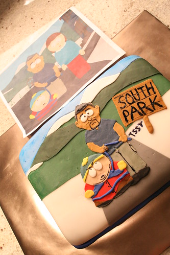 South Park Tsst Cake