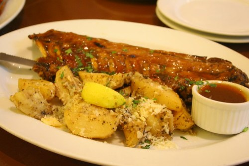 Baby Back Ribs at Cyma