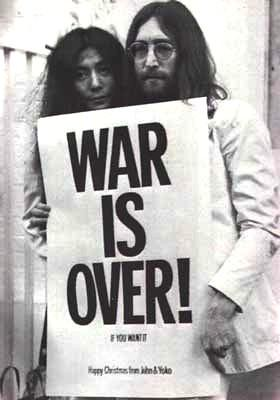 war is over john and yoko