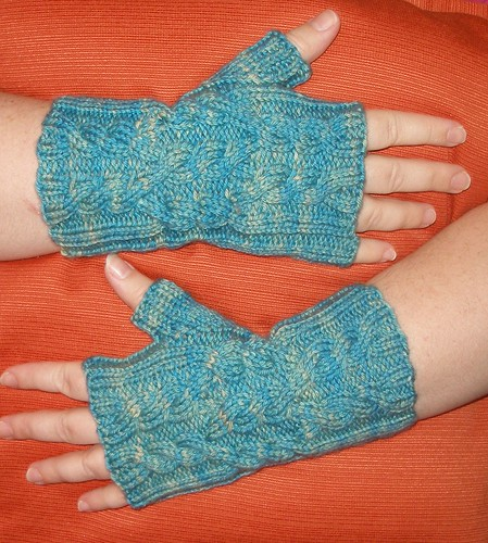 Icicle Wristwarmers